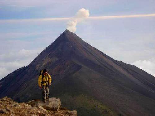 Volcan Fuego Guatemala
