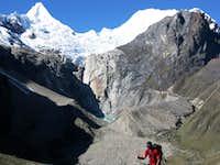Ascending Gara Gara Pass