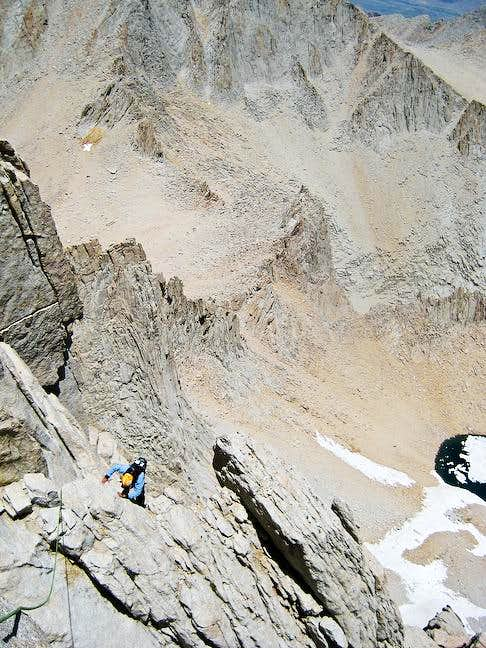 Climbing the East Buttress of Mount Whitney