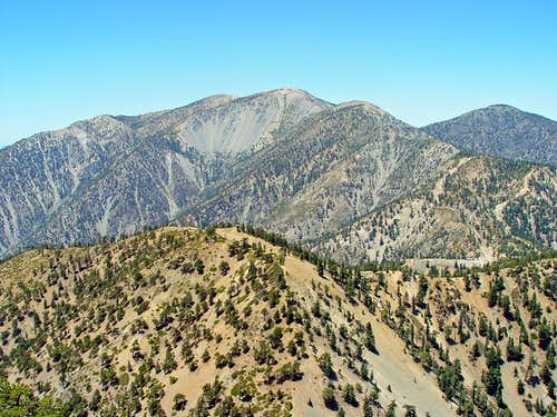 Mount Baldy from Telegraph Peak