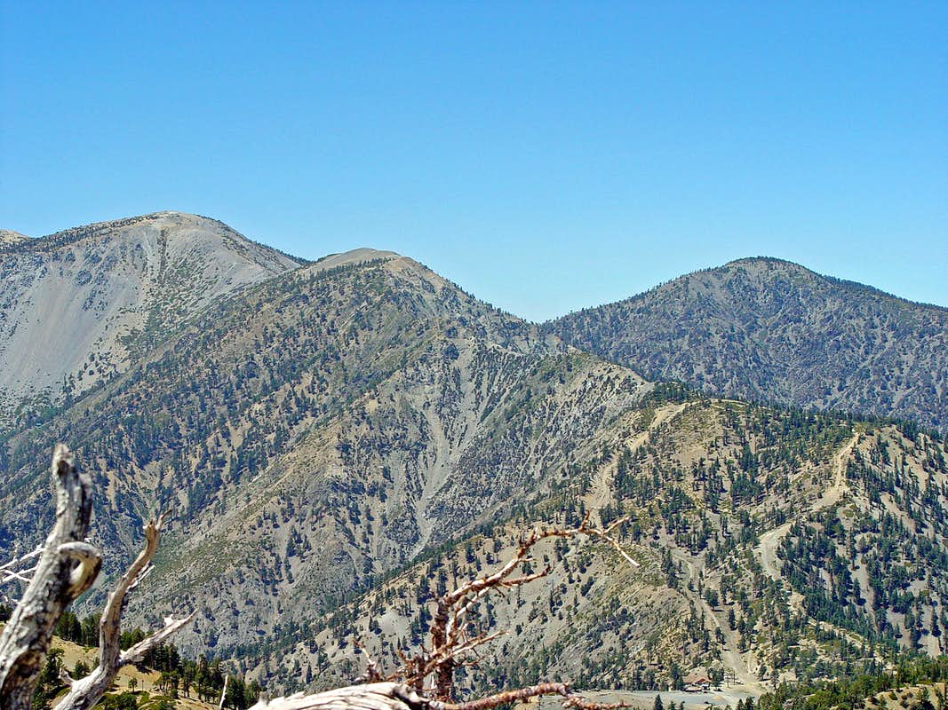 Mount Baldy and Devil's Backbone