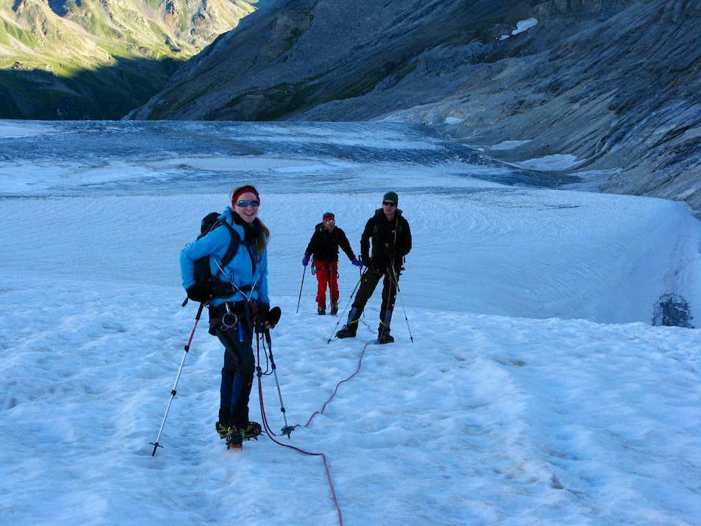 Ascent to Brunegghorn 3833m