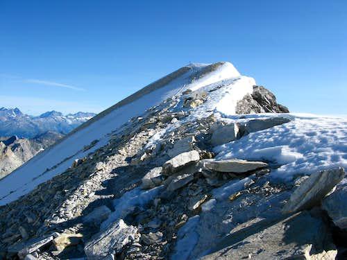 Brunegghorn 3833m southwest ridge (623742/108312)