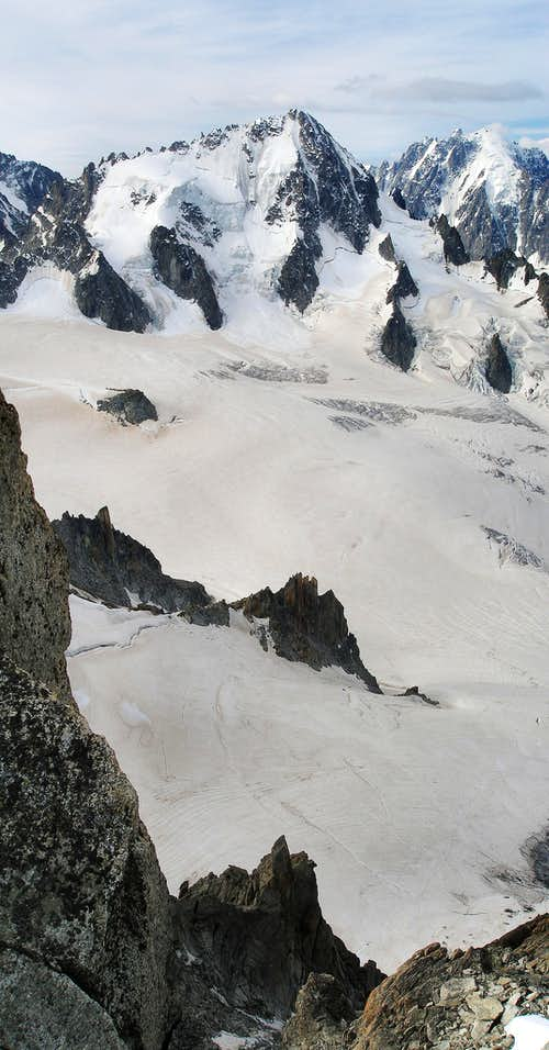 View from the Aiguille du Tour