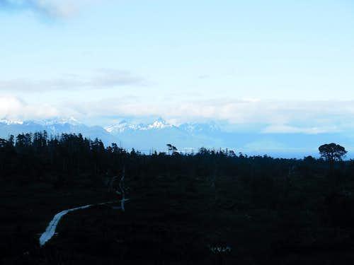 View of Baranof Island