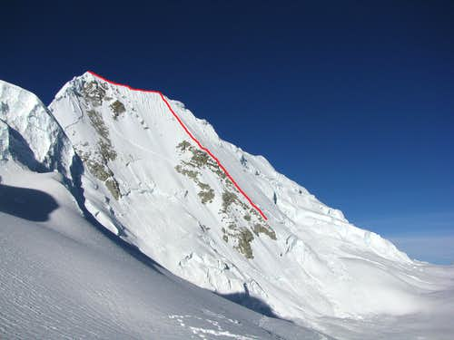 North Face Route, Quitaraju