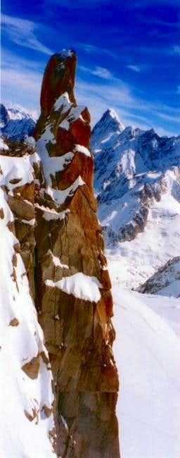 S.E pillar as seen from...