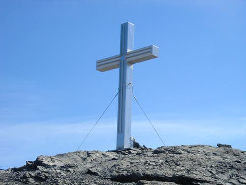 Summit cross of Barrhorn 3610m