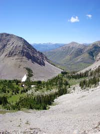 The View from Atop Headquarters Pass