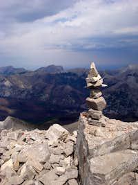 Spirit Tower Atop Mount Wright
