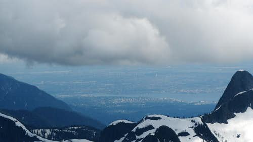 Vancouver from Summit
