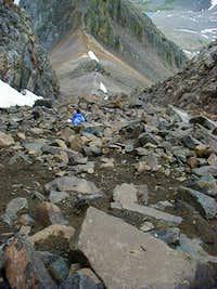 Climbing Mt. Sneffles