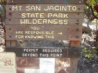 Mt San Jacinto SP