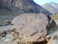 Buddhist Rock near Chilas
