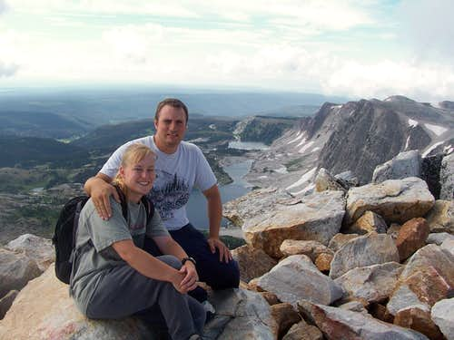 Medicine Bow Peak Summit