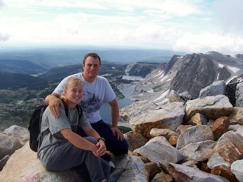 Medicine Bow Peak Summit
