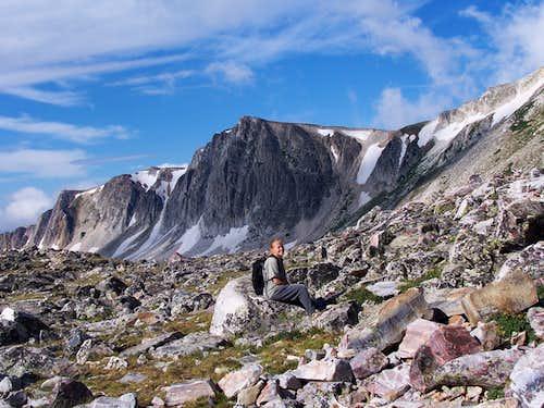 Medicine Bow Peak August 9 2008