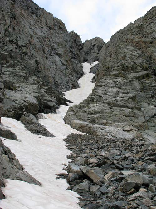 Pika Chute - from Three Apostle Basin