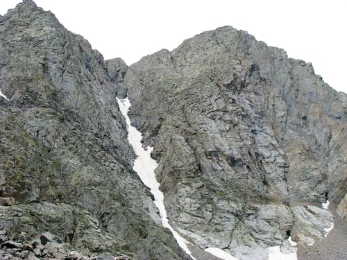Pika Chute from Three Apostle Basin