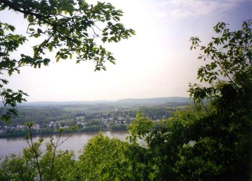 View across the Susquehanna...