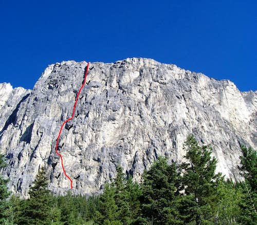 Kahl Wall, 5.10a, 9 Pitches