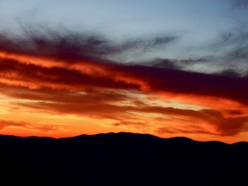 White Mountain Sunset