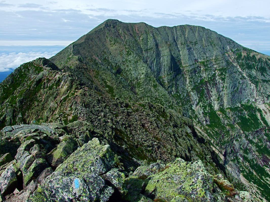 Baxter Peak On Katahdin
