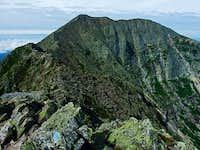 Baxter Peak On Katahdin