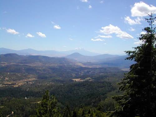 A view of Shasta from Mt....