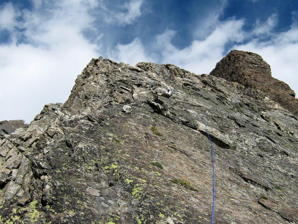 CMC route on Mt. Moran