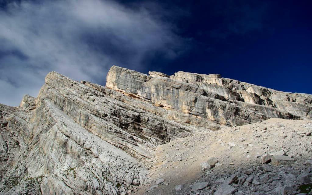 Punte dei Ross - Sorapiss southern ridge