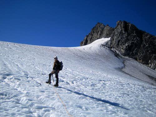 Ascent to Clariden