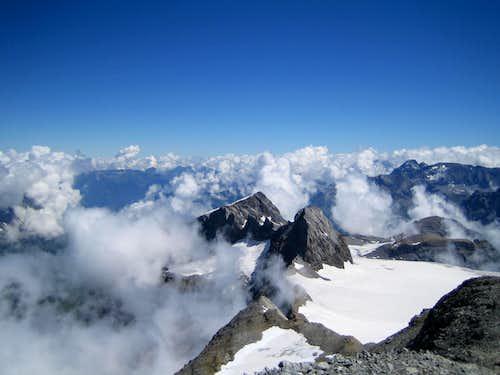 Clariden summit view
