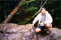 Me at the summit. Va highpoint