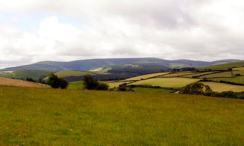The Radnor Forest from the East