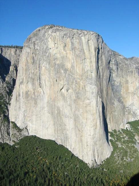 El Cap viewed from top of...