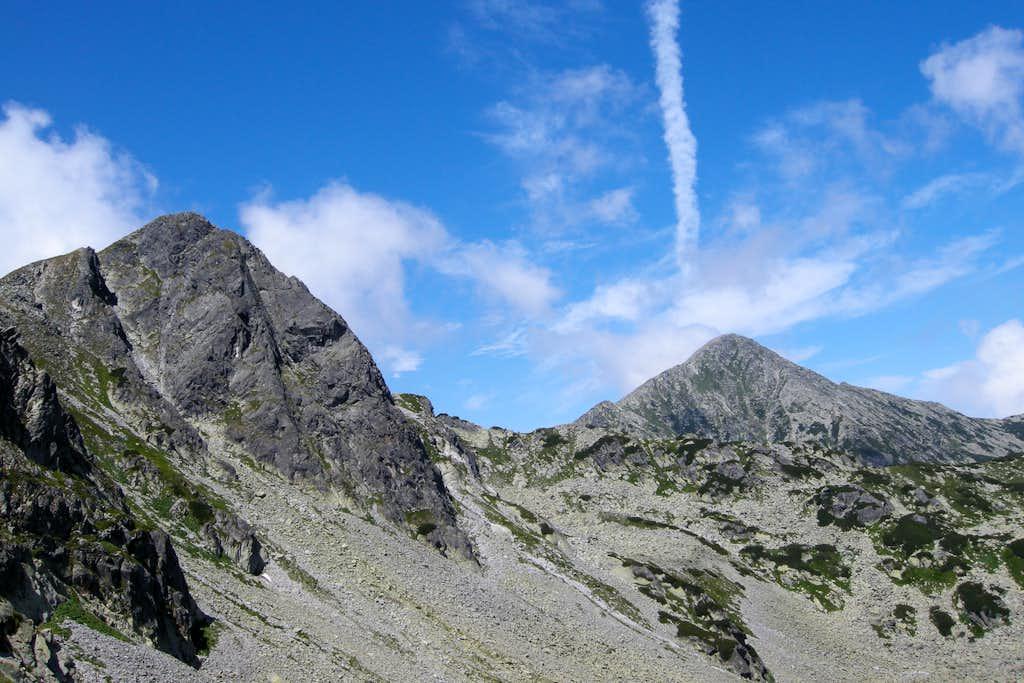 From Curmatura Bucurei pass
