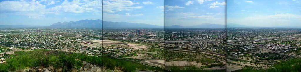 Panoramic view of Tucson