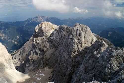 Kepa (2143m) above Kukova Spica (2427m) and Skrnatica (2448m)