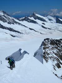 Descent  of SE Ridge