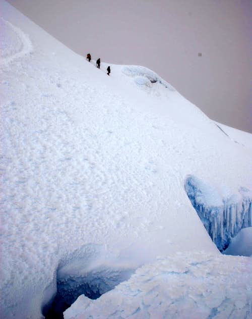 Nice big crevasse