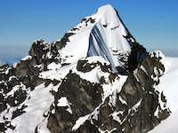 west/south-west ridge profile, June 08