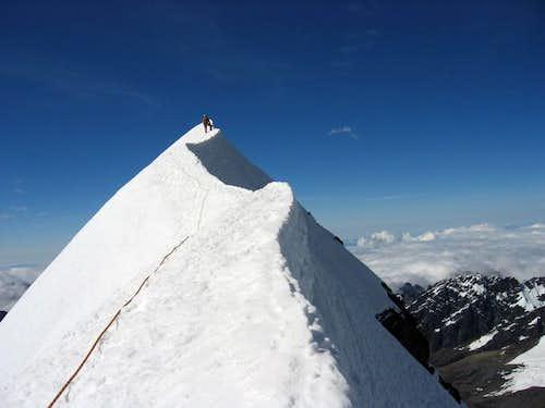 summit ridge, June 08