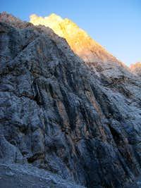 Dreischusterspitze after Sunrise