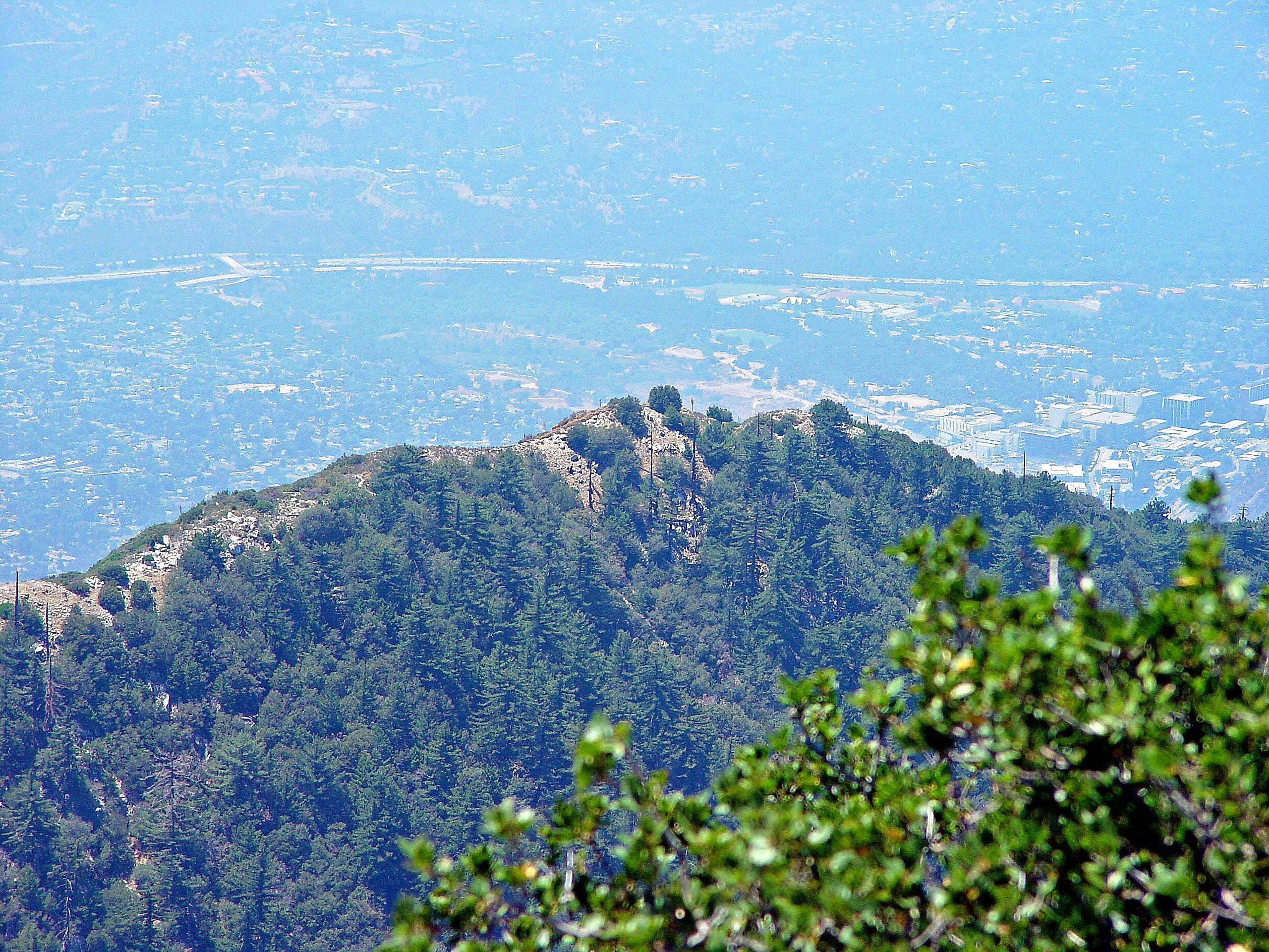 San Gabriel Mountains - Front Range - Echo Mountain Area
