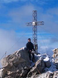 Dreischusterspitze - Summit