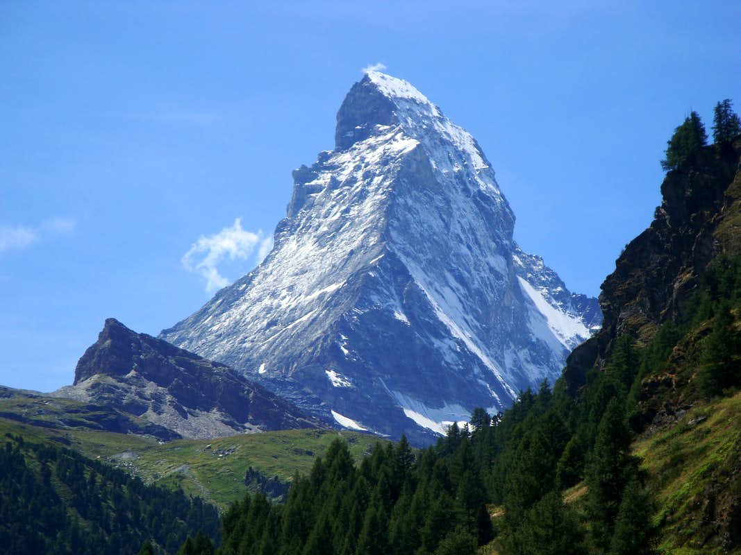 Cervino Matterhorn Photos Diagrams Amp Topos Summitpost