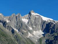 Wannenhorn seen from Bellwald