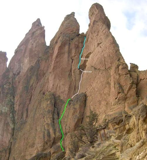 Sky Chimney route....