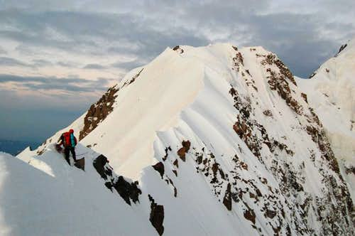Shkhara East summit